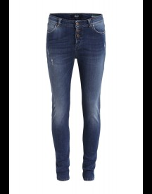 Object OBANTIFITALLY Slim fit jeans dark blue denim