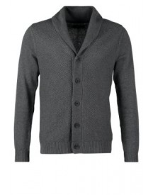 Selected Homme BATES SHAWL NECK CARDIGAN Vest medium grey malange