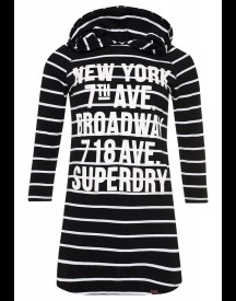 Superdry Longsleeve black/white