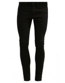 Topman SPRAY ON SKINNY BLACK Slim fit jeans black