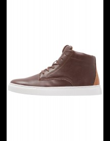 Topman Sneakers hoog brown