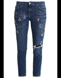 Topshop LUCAS Slim fit jeans blue