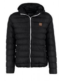Urban Classics BASIC BUBBLE Winterjas black/white