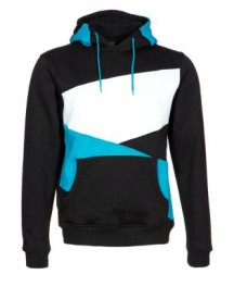 Urban Classics ZIG ZAG Sweater black/turquoise/white