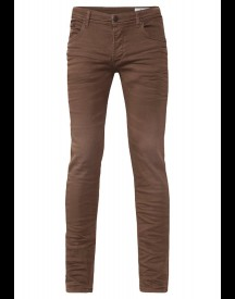 WE Fashion Slim fit jeans brown
