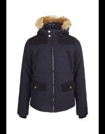 WE Fashion Winterjas dark blue