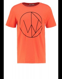 Whyred Tshirt print whyred red