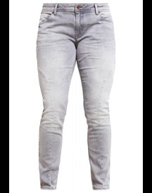 Zizzi SANNA Slim fit jeans grey denim