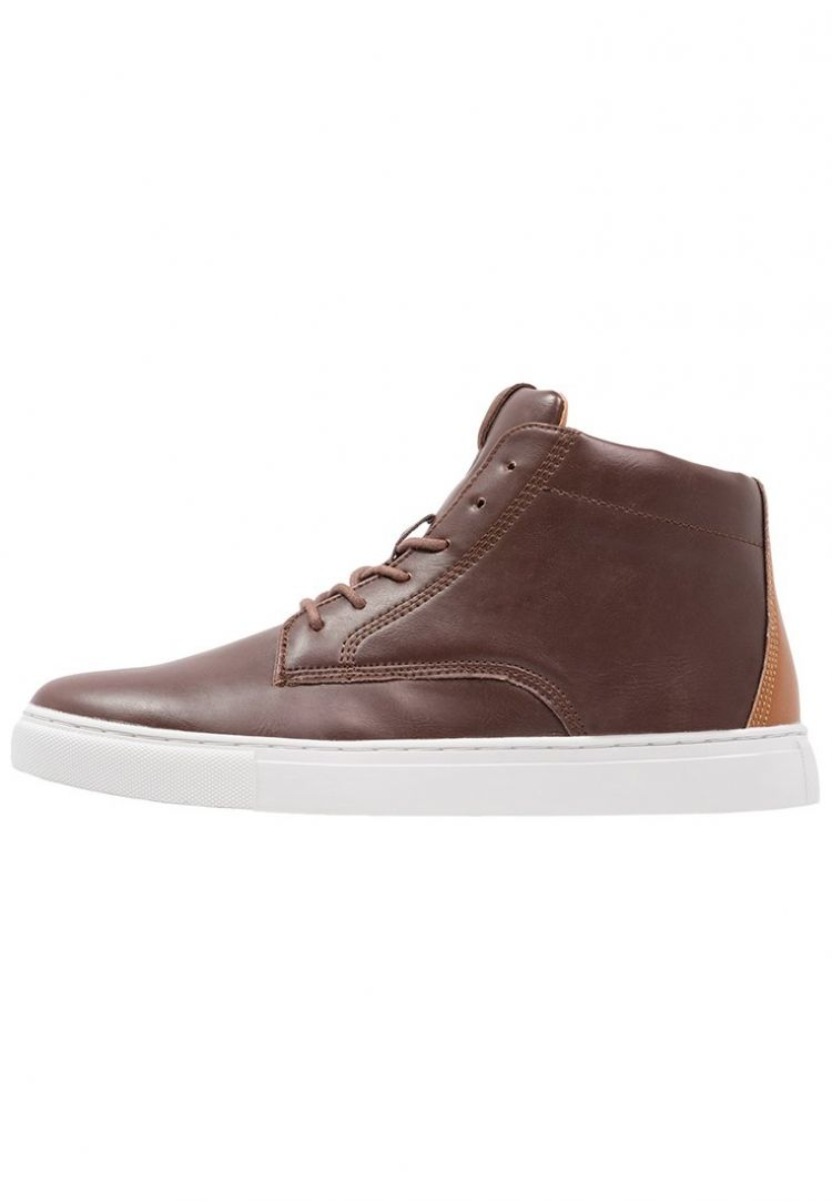 PRODUCT_IMAGE Topman Sneakers hoog brown