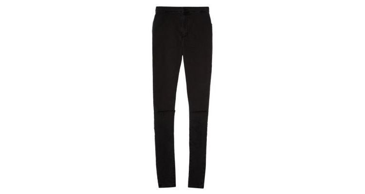 PRODUCT_IMAGE Topshop JONI Slim fit jeans black