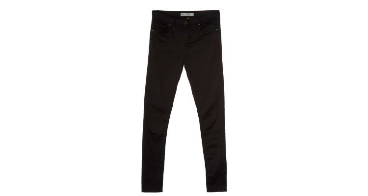 PRODUCT_IMAGE Topshop LEIGH Slim fit jeans black