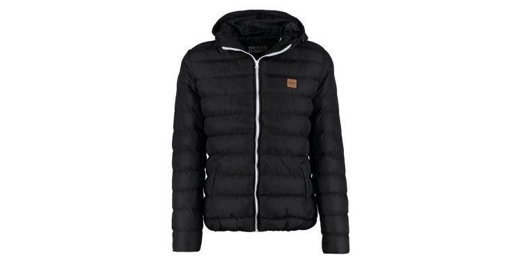 PRODUCT_IMAGE Urban Classics BASIC BUBBLE Winterjas black/white