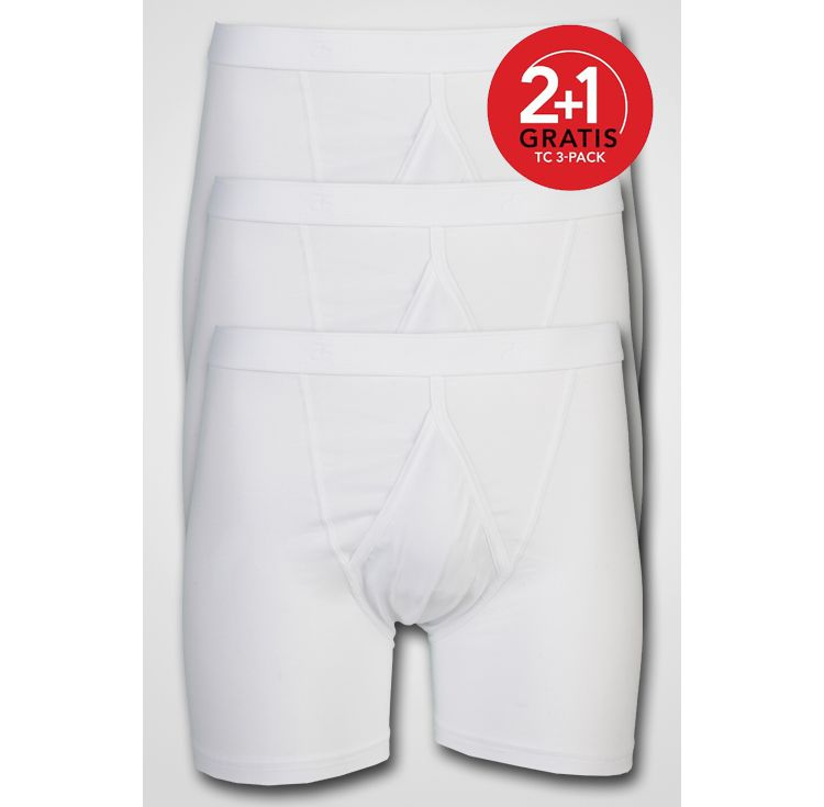 PRODUCT_IMAGE Ten Cate - **ACTIE** 3-pack Basic Boxer White
