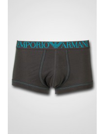 Emporio Armani - Charcoal/Turquoise Trunk