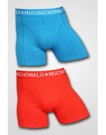 MuchachoMalo - Solid Boxers Blue/Red 2-pack