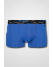 Schiesser - Low Rise Short Blue/Camouflage