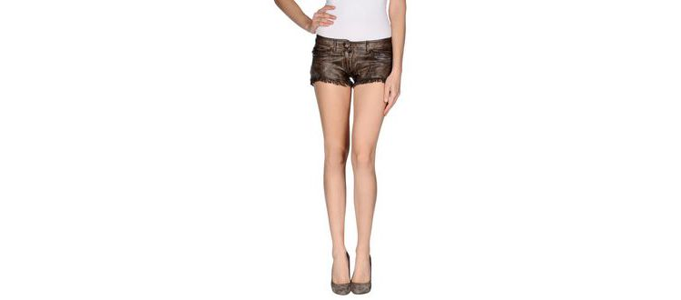 PRODUCT_IMAGE Le cuir perdu - trousers - shorts on yoox.com