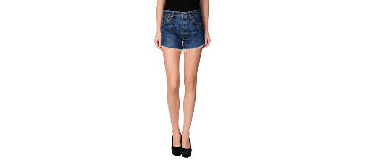 PRODUCT_IMAGE Levi's red tab - denim - denim shorts on yoox.com