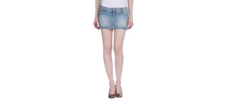 PRODUCT_IMAGE Meltin pot - denim - denim skirts on yoox.com