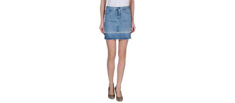 PRODUCT_IMAGE Mm6 by maison martin margiela - denim - denim skirts on yoox.com
