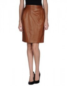 Ermanno scervino - leatherwear - leather skirts on yoox.com