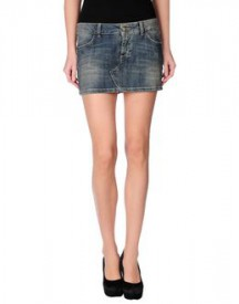 Manila grace - denim - denim skirts on yoox.com