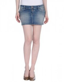Meltin pot - denim - denim skirts on yoox.com