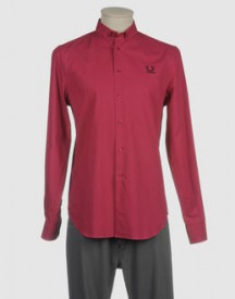 Raf simons fred perry - shirts - long sleeve shirts on yoox.com