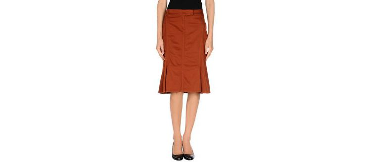 PRODUCT_IMAGE Trussardi - skirts - knee length skirts on yoox.com