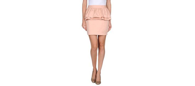 PRODUCT_IMAGE Twisty parallel universe - skirts - mini skirts on yoox.com
