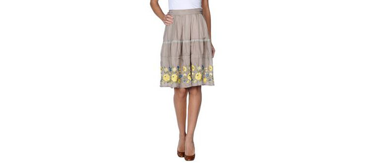 PRODUCT_IMAGE Zucca - skirts - knee length skirts on yoox.com