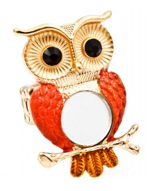 Dames ring Owl Mirror Gold