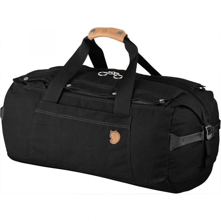 PRODUCT_IMAGE FjallRaven Duffel No.6 Small Black