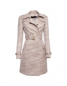 SuperTrash coat olympia gold lurex