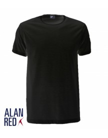 Alan Red T-Shirt Derby Zwart (1pack)