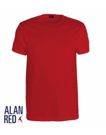 Alan Red T-Shirt Derby Stone Red (1pack)