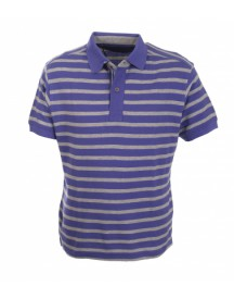 Suitable Polo Lavendel Grey Stripe