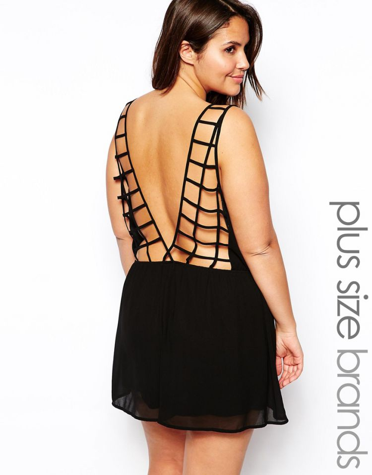 PRODUCT_IMAGE Alice & You Cage Back Playsuit