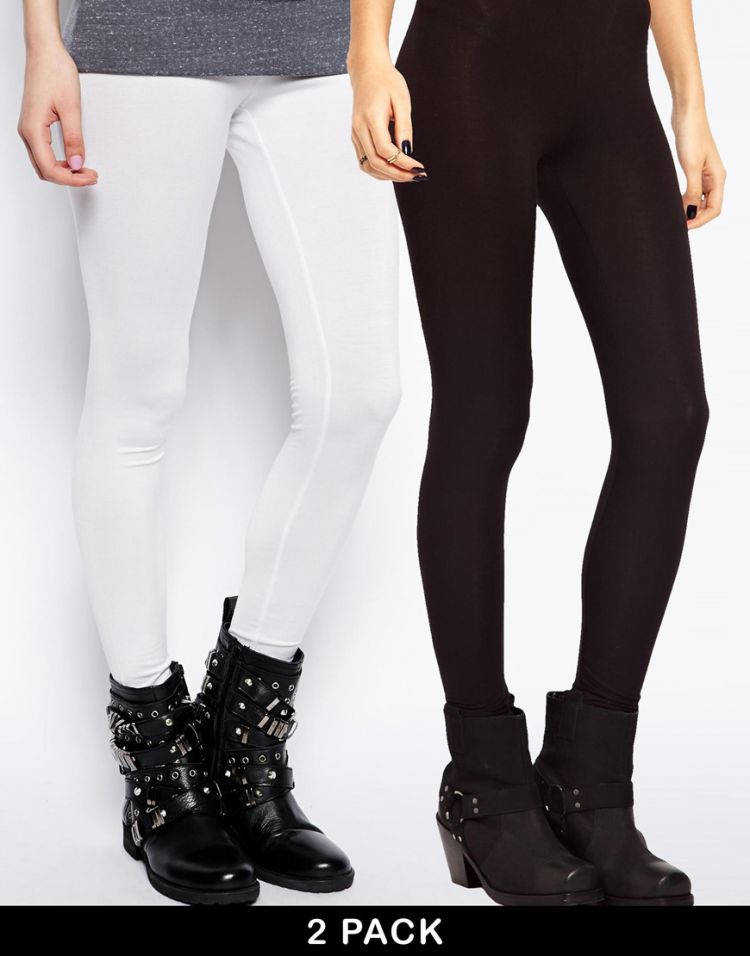 PRODUCT_IMAGE ASOS 2 Pack Full Length Leggings