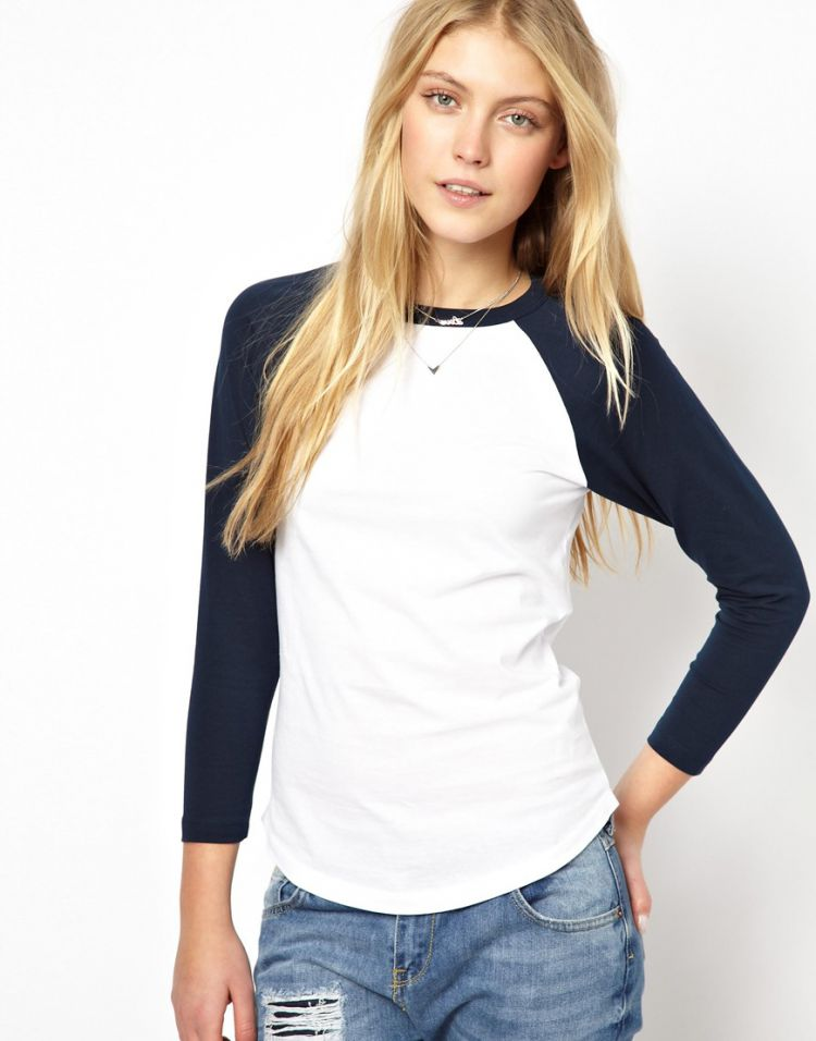 PRODUCT_IMAGE ASOS Colour Block Baseball Top