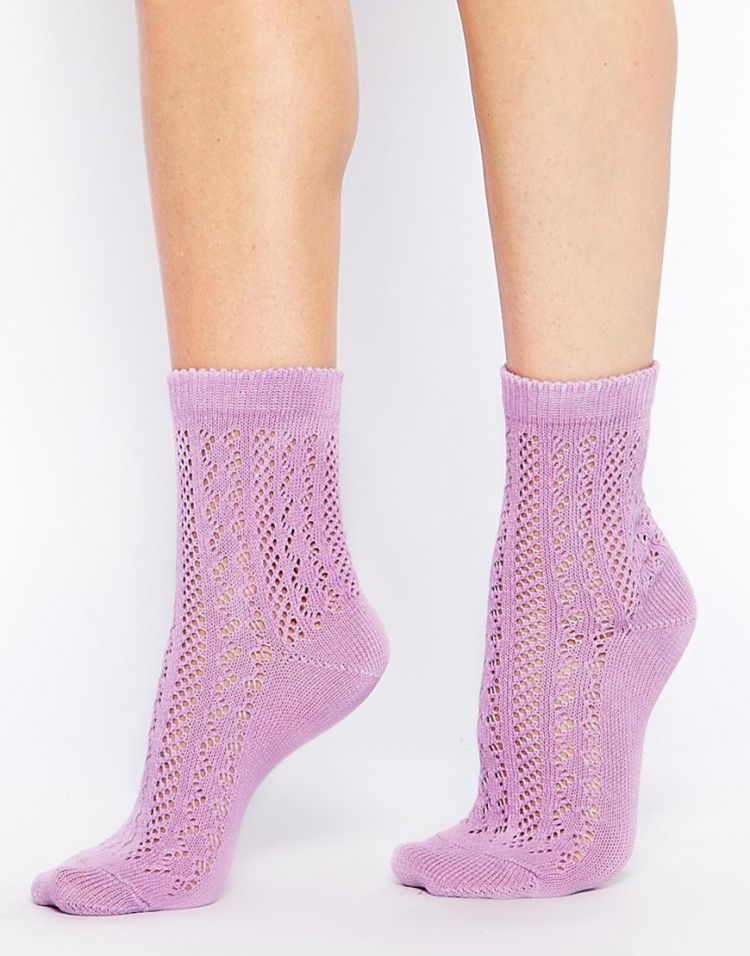 PRODUCT_IMAGE ASOS Crochet Ankle Socks