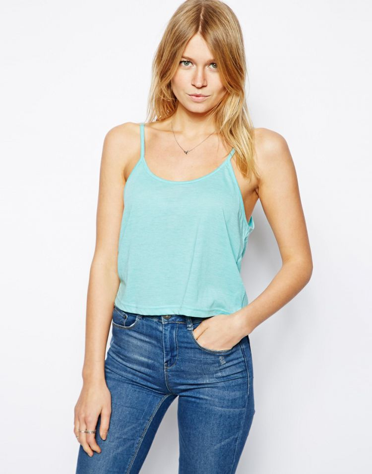 PRODUCT_IMAGE ASOS Cropped Cami Top with Scoop Neck