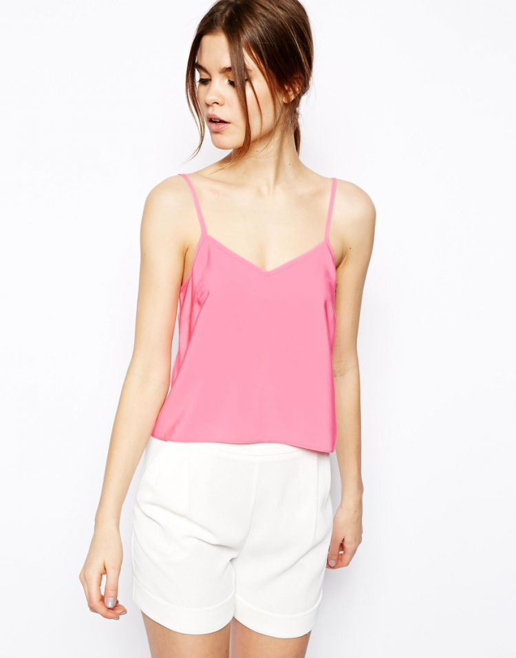 PRODUCT_IMAGE ASOS Cropped Woven Cami Top