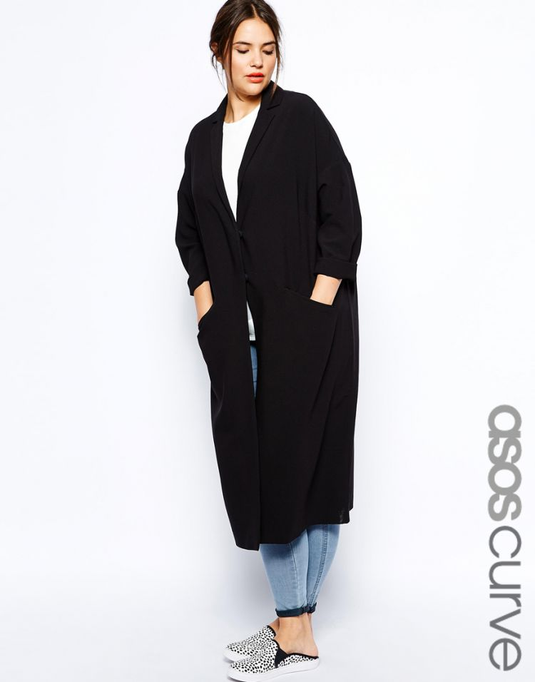 PRODUCT_IMAGE ASOS CURVE Duster Coat