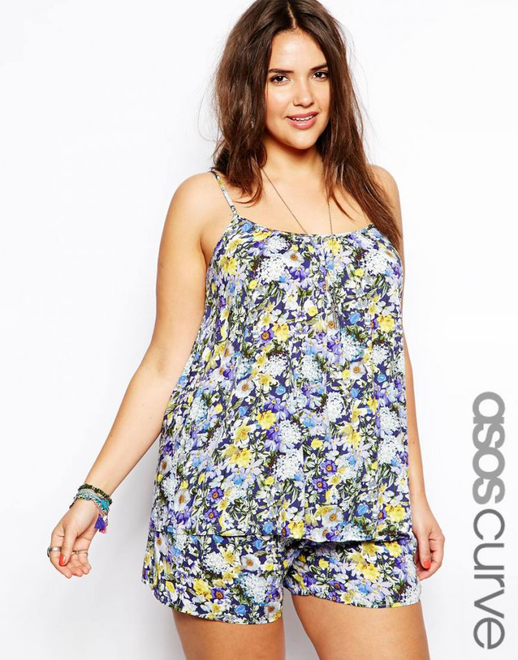 PRODUCT_IMAGE ASOS CURVE Exclusive Cami In Garden Floral Print