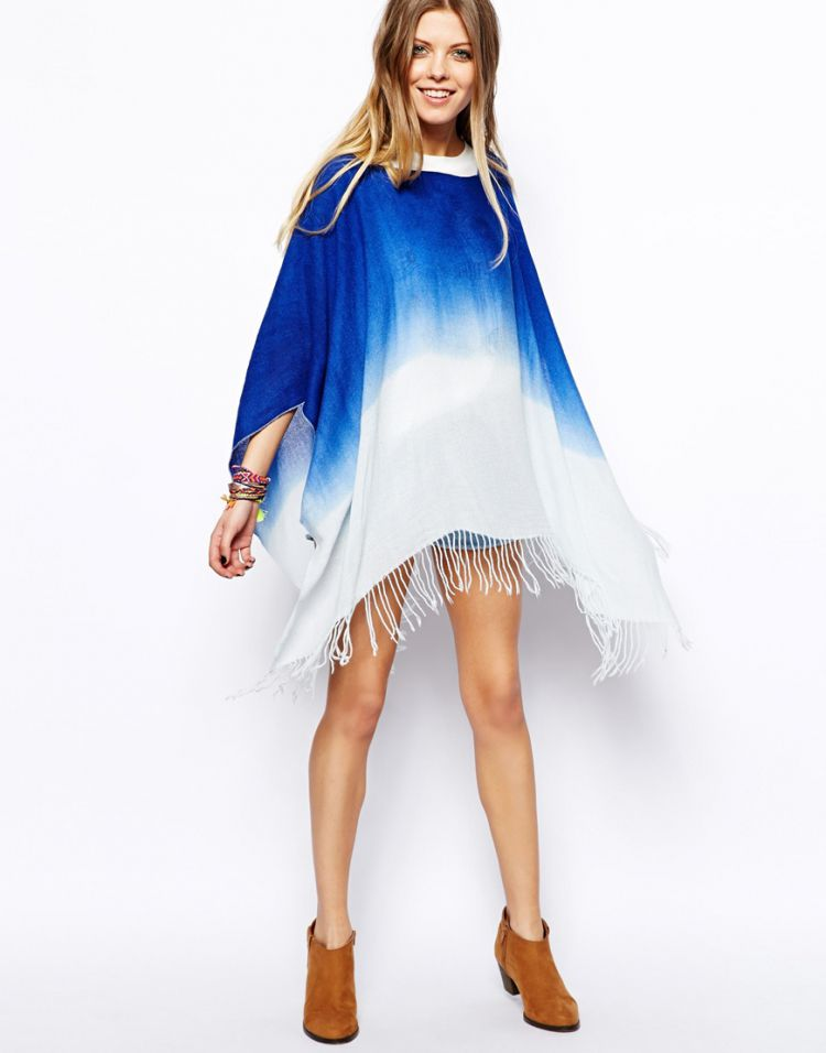 PRODUCT_IMAGE ASOS Dip Dye Ombre Poncho
