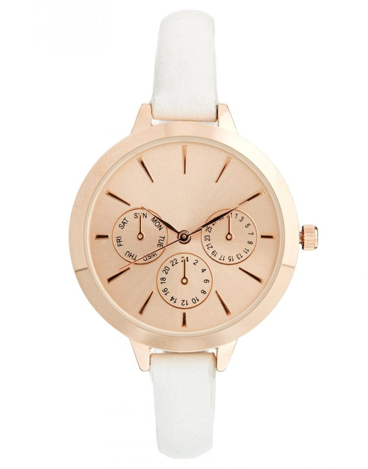 PRODUCT_IMAGE ASOS Large Face Slim Strap Watch