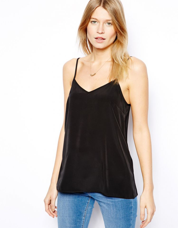 PRODUCT_IMAGE ASOS Longline Woven Cami Top