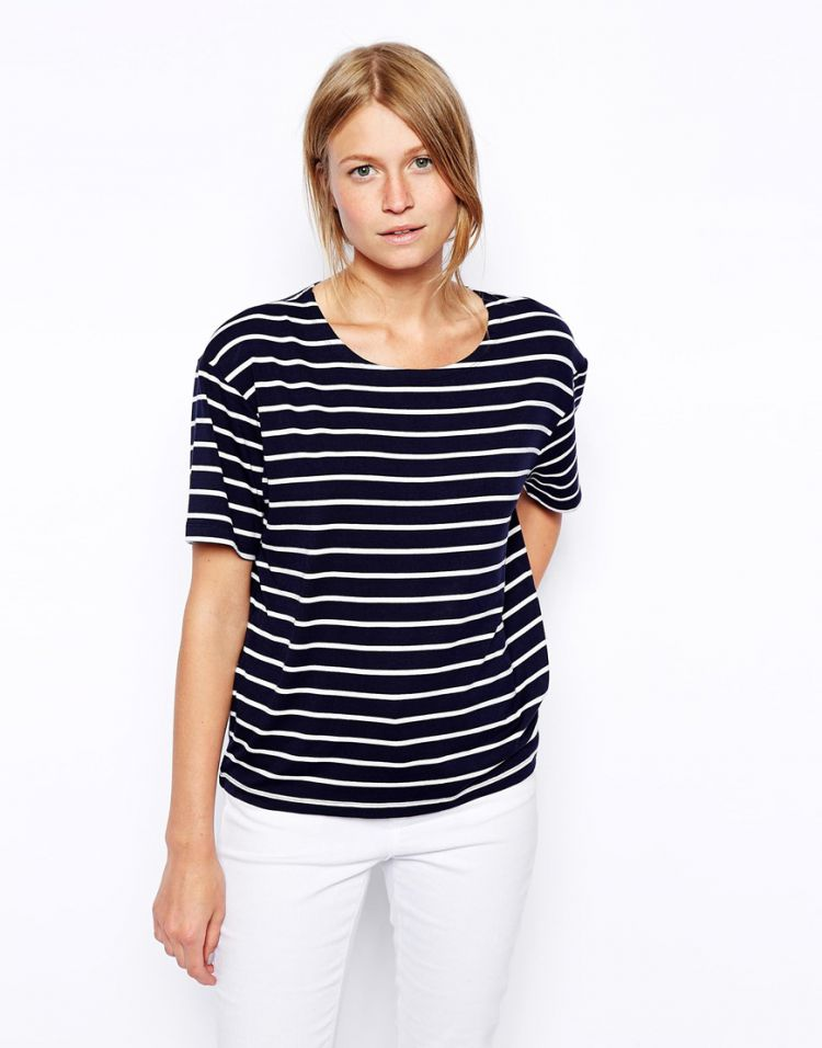 PRODUCT_IMAGE ASOS Luxe Stripe Tee