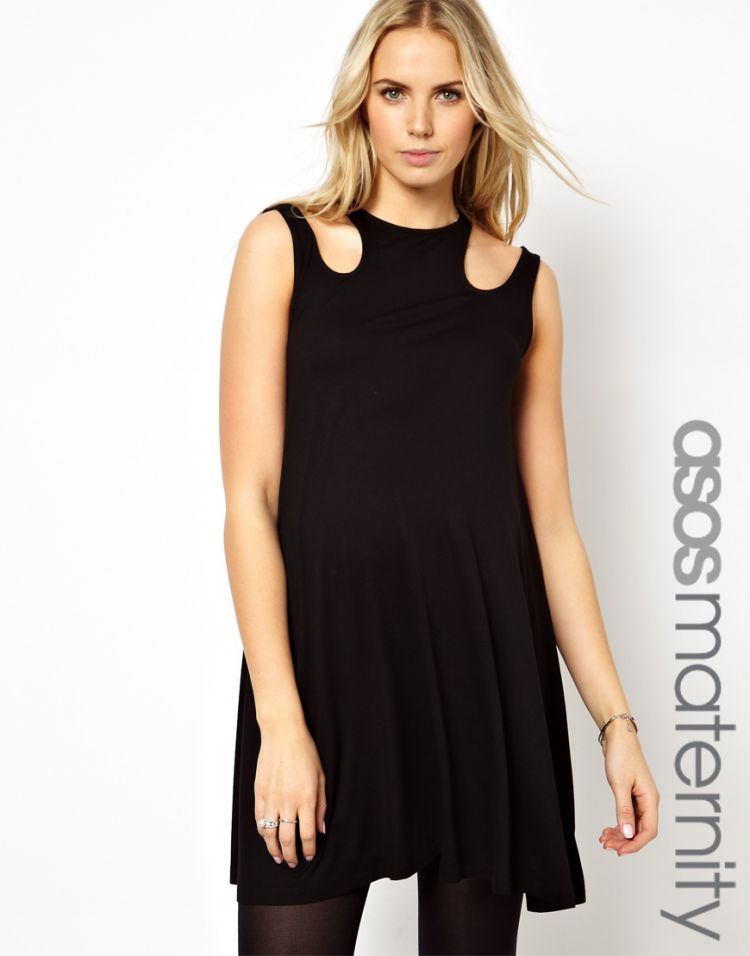 PRODUCT_IMAGE ASOS Maternity Exclusive Swing Dress With Cut Out